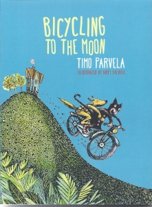 bicycling moon