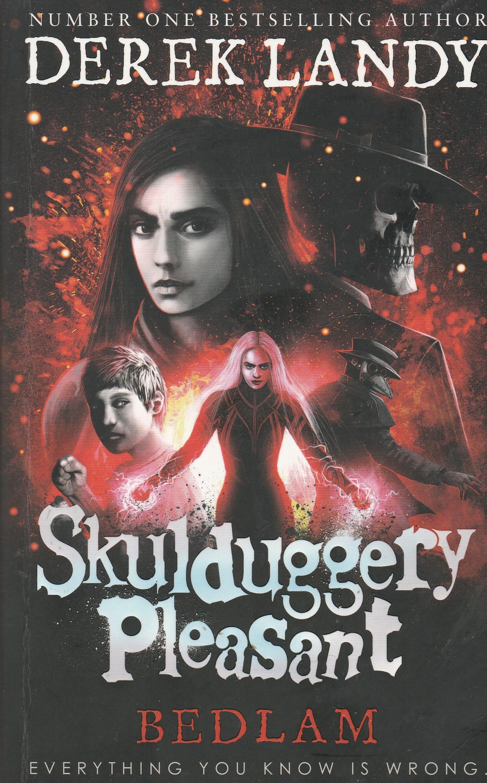 Skulduggery Pleasant Bk12. Bedlam by Derek Landy | Bobs